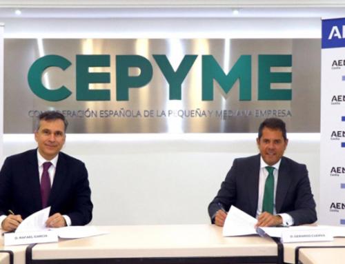 Acuerdo firmado por Aenor y Cepyme
